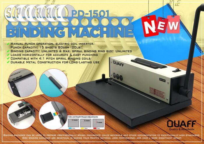 PD-1501 Spiral Binding Machine